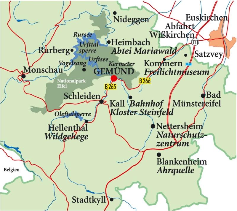 Nationalpark Eifel Karte.Seniorenhotel Urlaub Für Senioren Generation 60 Plus Nationalpark